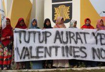 Tolak Valentine, Massa: Awas maksiat dari sebatang cokelat