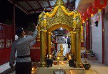 Jelang Imlek, Tim Jibom sisir vihara di Banda Aceh