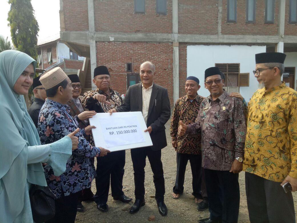 Komisi VIII DPR RI kunjungi Dayah Insan Qur'ani Aceh Besar