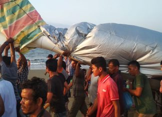Masyarakat bantu evakuasi pesawat Irwandi