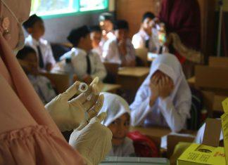 Antisipasi difteri, Dinkes Banda Aceh beri vaksin kepada siswa