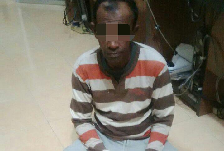 Sembunyi di belakang rumah, pengedar ganja di Langsa berhasil diringkus