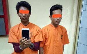 Curi handphone saat korban sedang tidur, pemuda asal Langsa ditangkap