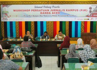 Empat pers kampus di Banda Aceh adakan workshop perangi hoax