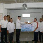 Wagub Aceh terima CSR dari BRI untuk pembangunan mushalla