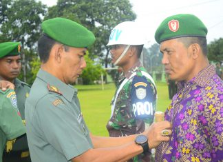 Terlibat kasus narkoba, prajurit Kodim Nagan Raya diberhentikan