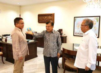 Bertemu Wapres JK, Irwandi laporkan perkembangan investasi di Aceh
