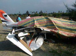 Pesawat mendarat darurat, Gubernur Irwandi dan penumpang selamat