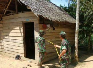 TNI di Aceh Timur cek rumah tak layak huni untuk direhab