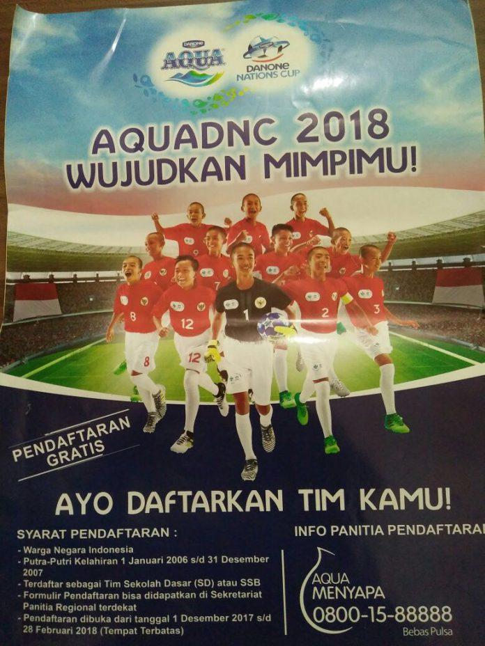 Kompetisi Danone 2018 tingkat Banda Aceh digelar 16 Maret, Ayo daftar!
