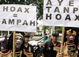 Puluhan mahasiswa di Langsa gelar aksi anti hoax