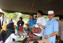 Dayah Entrepreneur Darussalam di Bireuen gelar bazar kreatif santri
