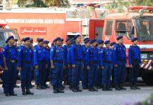 Pemkab Aceh Utara peringati HUT Pemadam Kebakaran ke-99