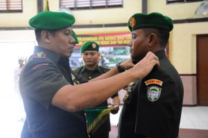 Deki Rayusyah Putra dilantik jadi Dandim 0117/Aceh Tamiang
