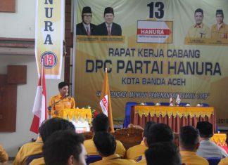 Hanura targetkan 5 kursi di DPRK Banda Aceh