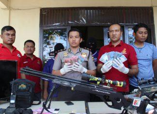 Polisi ungkap pencurian logistik PDAM Tirta Mon Pasee Senilai Rp375 juta