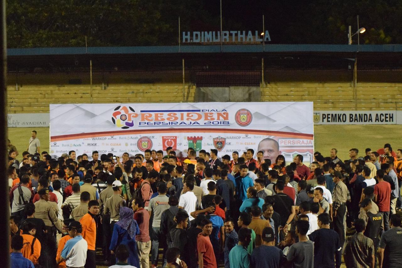 Foto: Kalahkan Blitar United 5-0, Persiraja juara Piala Presiden
