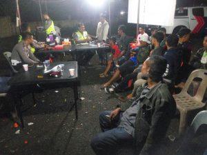 Polres Aceh Besar dan Pidie gelar razia di perbatasan, pilih ngopi atau tidur?