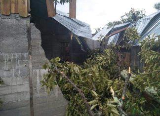 Angin tornado hantam 4 rumah warga di Nagan Raya
