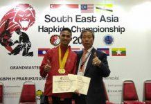 Putra asal Aceh Besar raih dua emas pada kejuaraan Hapkido se-Asean