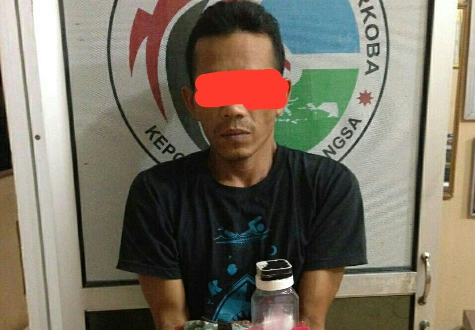 Polisi tangkap pengedar di Langsa, ditemukan 15 paket sabu dan 1 paket ganja