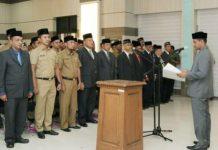 71 pejabat Pemko Sabang dilantik, Walikota: Kerja sesuai tupoksi masing-masing