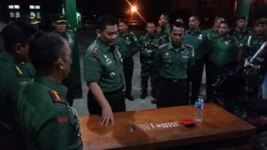 Pangdam periksa sabu-sabu hasil penggerebakan anggota Kodim Nagan Raya