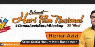 Hanura dukung Pemko Banda Aceh pelajari aturan bioskop di Arab Saudi