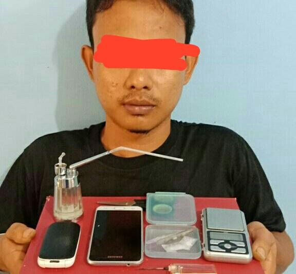 Akhirnya Polres Abdya tangkap TO pengguna sabu-sabu