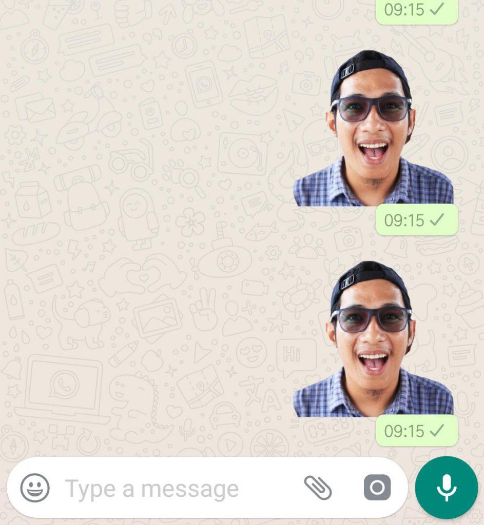 Cara Bikin Sticker Whatsapp Pakai Foto Sendiri Kanal Aceh