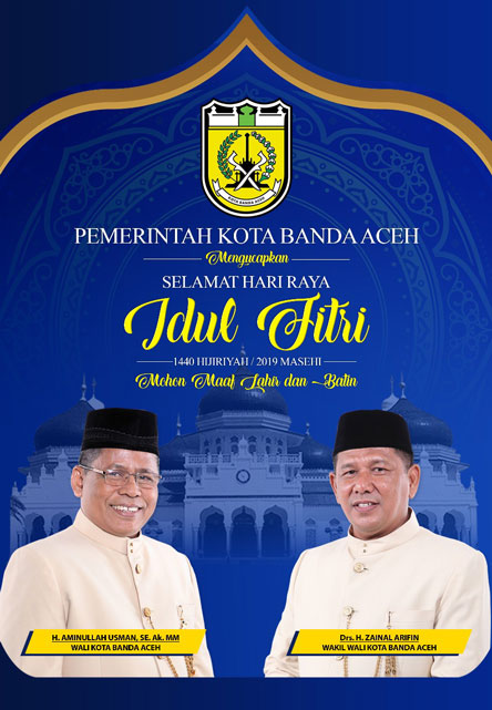 Ucapan Idul Fitri Pemkot Banda Aceh Kanal Aceh