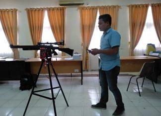 Mahasiswa Lhokseumawe Ciptakan Perangkat Pengendali Senapan Dari Jarak Jauh