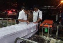 Dinsos Aceh memulangkan jenazah edi saputra