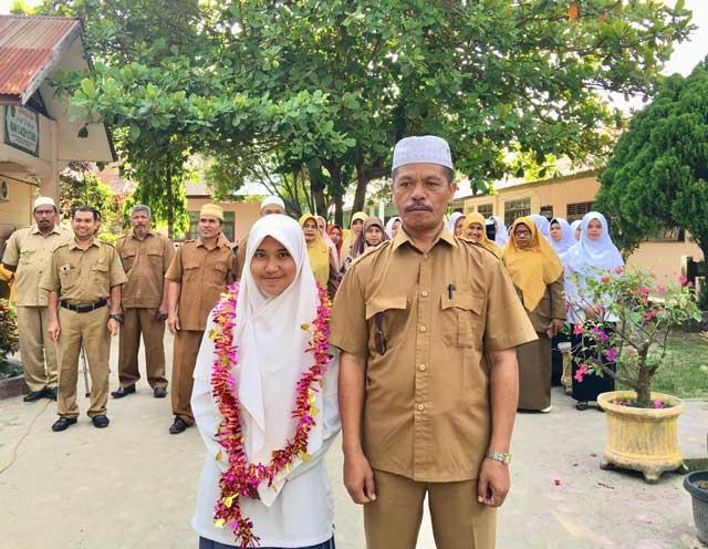 Siswi Man 3 Aceh Utara Raih Juara 1 Tilawah Tingkat Provinsi ke-34 di Pidie