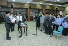 Sekda Aceh Lantik 36 Pejabat, Termasuk 3 Eselon II