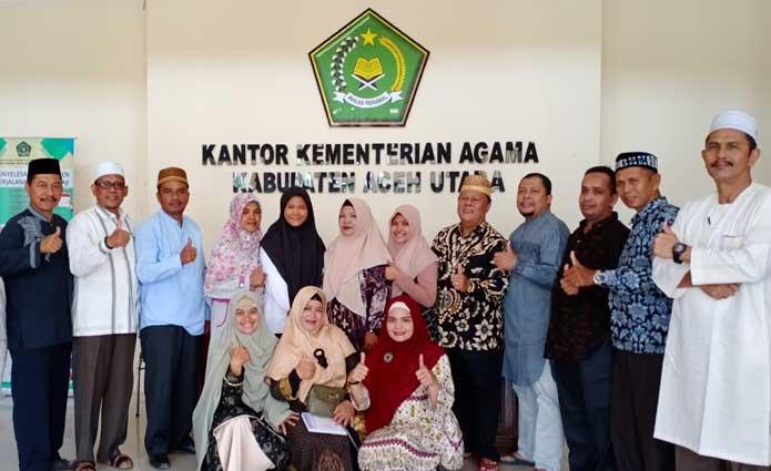 Siswi MAN 4 Aceh Utara Ikuti KSM Nasional di Manado