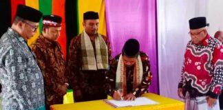 MAN 4 Aceh Utara Serih Terima Jabatan Kepala Madrasah