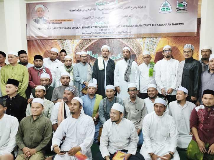 PW HUDA Banda Aceh Ikuti Daurah Ilmiah Sanad Hadist Bersama Syeikh Dr. Yasir bin Salim