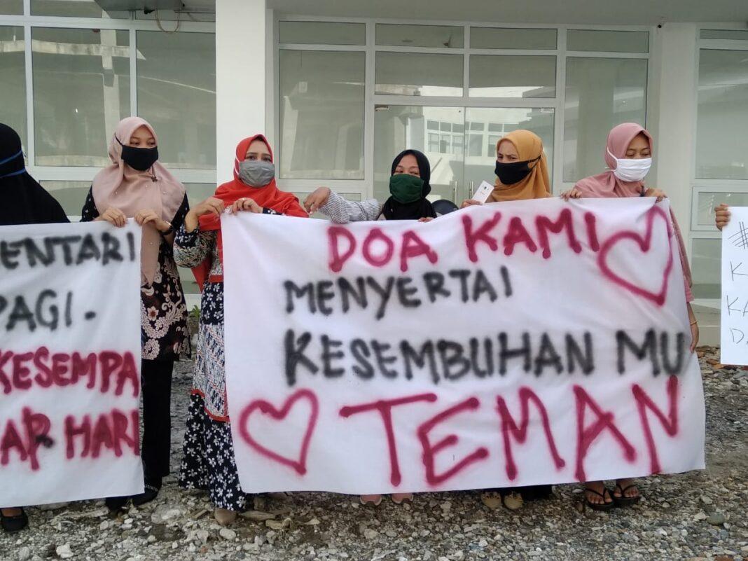 Warga Aceh Selatan Ramai-ramai Beri Dukungan ke Pasien Positif Corona