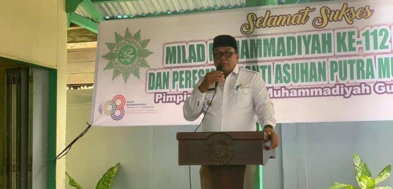 Dulmusrid Saat Memperingati Milad Muhammadiyah ke 112