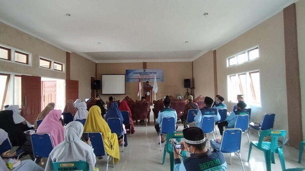 Guru Ngaji di Aceh Singkil Ikuti Pelatihan dari BKPRMI